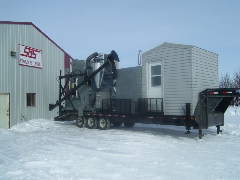 Mobile Grain Cleaners